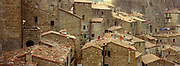 City View, Sorano, Tuscany, Italy, October 2004