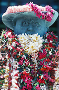Father Damien statue, Honolulu, Oahu, Hawaii