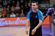 DESCRIZIONE : Eurocup 2014/15 Last 32 Gruppo H Dinamo Banco di Sardegna Sassari - Buducnost VOLI Podgorica<br /> GIOCATORE : Marius Ciulin<br /> CATEGORIA : Arbitro Referee<br /> SQUADRA : Arbitro Referee<br /> EVENTO : Eurocup 2014/2015<br /> GARA : Dinamo Banco di Sardegna Sassari - Buducnost VOLI Podgorica<br /> DATA : 28/01/2015<br /> SPORT : Pallacanestro <br /> AUTORE : Agenzia Ciamillo-Castoria / Luigi Canu<br /> Galleria : Eurocup 2014/2015<br /> Fotonotizia : Eurocup 2014/15 Last 32 Gruppo H Dinamo Banco di Sardegna Sassari - Buducnost VOLI Podgorica<br /> Predefinita :