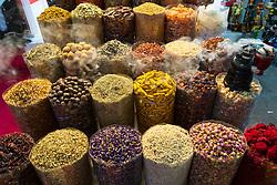 Spices on sale at Dubai Souk inn Dubai, united Arab Emirates