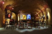 Peter Menzel & Faith D'Aluisio private cave, Napa Valley, California, USA.