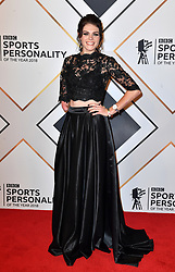 Lauren Steadman during the red carpet arrivals for the BBC Sports Personality of the Year 2018 at The Vox at Resorts World Birmingham.