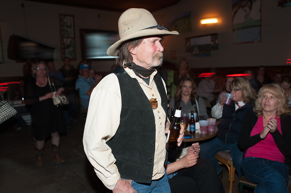 Bud Petryszak at the premier party for Dead End Express.