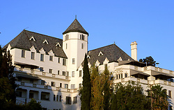 Dec 07, 2006; West Hollywood, CA, USA; The Chateau Marmont. This hotel is located at 8221 Sunset Blvd., on the world famous Sunset Strip. This classic hotel is dripping with history and you can feel it in every room. From Hollywood's Golden Age to Leonardo Dicaprio and Lindsay Lohan, celebrities love the place (Credit Image: © Jonathan Alcorn/ZUMAPRESS.com)