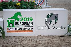 Podium<br /> European Jumping Championship Children<br /> Zuidwolde 2019<br /> © Hippo Foto - Dirk Caremans<br /> Podium