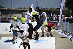 June 23, 2017 - Paris, France, France - Illustration Skate board (Credit Image: © Panoramic via ZUMA Press)