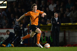 Wolves midfielder Kevin McDonald runs with the ball  - Photo mandatory by-line: Mitchell Gunn/JMP - Tel: Mobile: 07966 386802 01/04/2014 - SPORT - FOOTBALL - Broadhall Way - Stevenage - Stevenage v Wolverhampton Wanderers - League One