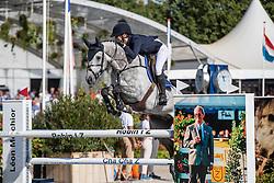 Seppälä Jasmin, FIN, Jetski EB<br /> FEI WBFSH Jumping World Breeding Championship for young horses Zangersheide Lanaken 2019<br /> © Hippo Foto - Dirk Caremans