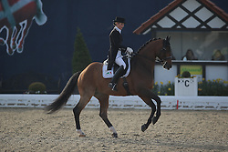 Freese Isabel, (NOR), Sam's Ass<br /> Intermediare II - Louisdor-Preis<br /> Horses & Dreams meets Denmark - Hagen 2016<br /> © Hippo Foto - Stefan Lafrentz