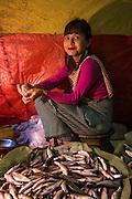 Fishmarket<br /> Barabazar market, Shillong<br /> Meghalaya,  ne India