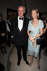 The DUKE & DUCHESS OF ROXBURGHE at the Cartier Racing Awards 2009 held at Claridge's, Brook Street, London on 17th November 2009.