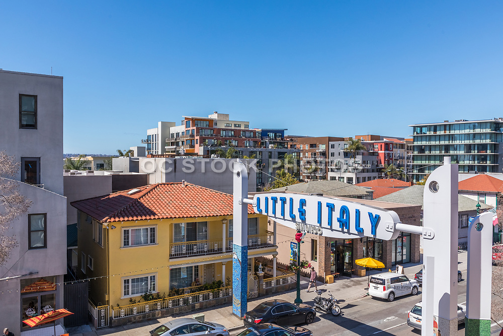 Little Italy Downtown San Diego