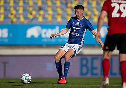 Mathias Hebo Rasmussen (Lyngby Boldklub) under kampen i 3F Superligaen mellem Lyngby Boldklub og FC København den 1. juni 2020 på Lyngby Stadion (Foto: Claus Birch).