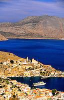 Island of Symi, Dodecanese, Greece