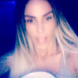 """Katie Price releases a photo on Instagram with the following caption: """"On my way to Stevenage still time to get your tickets \ud83d\udc8b\ud83d\udc8b\ud83d\udc8b"""". Photo Credit: Instagram *** No USA Distribution *** For Editorial Use Only *** Not to be Published in Books or Photo Books ***  Please note: Fees charged by the agency are for the agency's services only, and do not, nor are they intended to, convey to the user any ownership of Copyright or License in the material. The agency does not claim any ownership including but not limited to Copyright or License in the attached material. By publishing this material you expressly agree to indemnify and to hold the agency and its directors, shareholders and employees harmless from any loss, claims, damages, demands, expenses (including legal fees), or any causes of action or allegation against the agency arising out of or connected in any way with publication of the material."""
