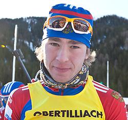 12.12.2010, Biathlonzentrum, Obertilliach, AUT, Biathlon Austriacup, Verfolgung Men, im Bild Sergey Bocharinkov (RUS, #16). EXPA Pictures © 2010, PhotoCredit: EXPA/ J. Groder