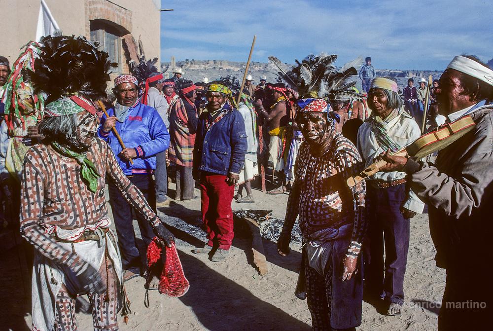 Copper Canyon (Barranca del Cobre. Norogachi, Tarahumara Holy Week.
