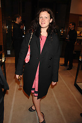KATIE GRAND at a reception to launch the 2007 Louis Vuitton Christmas windows in collaboration with Central Saint Martins College of Art & Design held at 17-18 New Bond Street, London W1 on 7th November 2007.<br /><br />NON EXCLUSIVE - WORLD RIGHTS