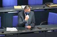 DEU, Deutschland, Germany, Berlin, 06.05.2021: Innen-Staatssekretär Stephan Mayer (CSU) in der Plenarsitzung im Deutschen Bundestag.