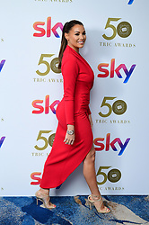 Jess Wright attending the TRIC Awards 2019 50th Birthday Celebration held at the Grosvenor House Hotel, London.