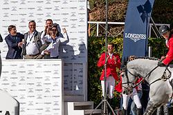 Philippaerts Nicola, BEL, Harley van den Bisschop<br /> Longines FEI Jumping Nations Cup™ Final<br /> Barcelona 20128<br /> © Hippo Foto - Dirk Caremans<br /> 07/10/2018