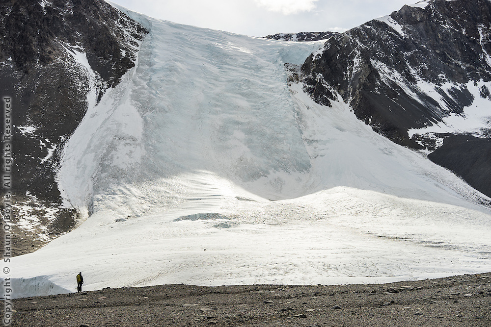 Seuss Glacier from the decent of the Nussbaum Riegel