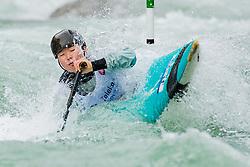 Ayano SATO (JPN) during Canoe Semi Finals at World Cup Tacen, 18 October 2020, Tacen, Ljubljana Slovenia. Photo by Grega Valancic / Sportida