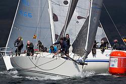 Pelle P Kip Regatta 2017 run by Royal Western Yacht Club at Kip Marina on the Clyde. <br /> <br /> TBA2, Jacob VII, John Stamp, Port Edgar, Corby 33<br /> <br /> Image Credit Marc Turner