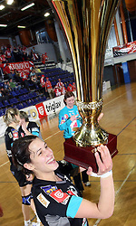 Andrea Lekic of Krim at handball game ZRK Celje Celjske Mesnine vs RK Krim Mercator in final match of Slovenian Handball Cup,  on April 6, 2008 in Arena Golovec, Celje, Slovenia. Krim won the game 31:21 and became Cup Winner.  (Photo by Vid Ponikvar / Sportal Images)