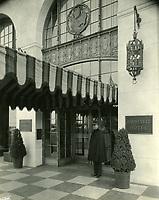 1926 Roosevelt Hotel entrance and doorman