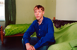 Sixteen year old homeless boy living in temporary accommodation; Leeds