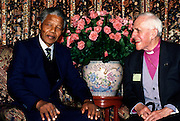 Nelson Madela with Trevor Huddleston London 1997