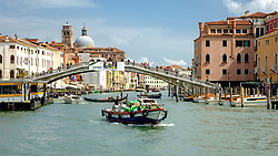 Scalzi Bridge (Ponte degli Scalzi) over the Grand Canal, Venice, Italy<br /> <br /> (c) Andrew Wilson | Edinburgh Elite media