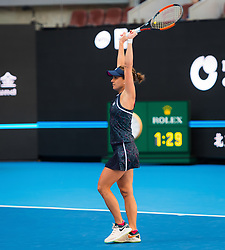 October 7, 2018 - Barbora Strycova of the Czech Republic in action during the doubles final of the 2018 China Open WTA Premier Mandatory tennis tournament (Credit Image: © AFP7 via ZUMA Wire)