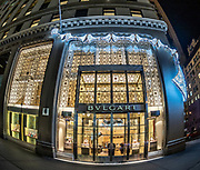 Bulgari New York - Boutique Store at Christmas