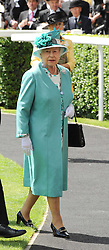 HM THE QUEEN at the first day of the 2010 Royal Ascot Racing festival at Ascot Racecourse, Berkshire on 15th June 2010.