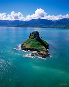 Chinaman's Hat, Kaneohe Bay, Kaneohe, Oahu, Hawaii, USA