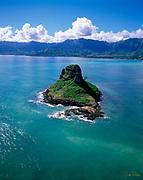 Chinaman's Hat, Kaneohe Bay, Kaneohe, Oahu, Hawaii, USA