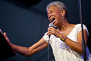 Germaine Bazzle, New Orleans Jazz and Heritage Festival 2013