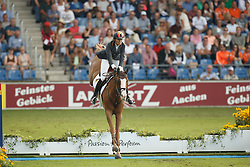 Cordon Pilar, (ESP), Gribouille du Lys<br /> Team completion and 2nd individual qualifier<br /> FEI European Championships - Aachen 2015<br /> © Hippo Foto - Dirk Caremans<br /> 20/08/15