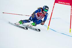 Adriana Jelinkova (NED) during the Ladies' Giant Slalom at 57th Golden Fox event at Audi FIS Ski World Cup 2020/21, on January 16, 2021 in Podkoren, Kranjska Gora, Slovenia. Photo by Vid Ponikvar