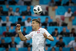 June 19, 2018 - Moscow, Vazio, Russia - Bednarek during a match between Poland and Senegal, valid for the first round of Group H of the 2018 World Cup, held at the Spartak Stadium in Moscow, Russia (Credit Image: © Thiago Bernardes/Pacific Press via ZUMA Wire)