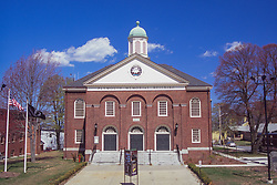 Plymouth Memorial Building, Plymouth, Massachusetts, US