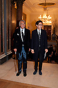 SIR DAVID TANG; EDWARD TANG, Opening of David Hockney ' A Bigger Picture' Royal Academy. Piccadilly. London. 17 January 2012