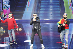 March 26, 2019 - Naples, Italy, RAI auditorium of Naples 25-03-2019 took place the fourth episode of the famous comedian show Made in SUD.In the picture: (Credit Image: © Fabio Sasso/ZUMA Wire)