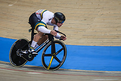 March 2, 2019 - Pruszkow, Poland - Matthew Glaetzer (AUS) competes in the Men's sprint qualifying race on day four of the UCI Track Cycling World Championships held in the BGZ BNP Paribas Velodrome Arena on March 02 2019 in Pruszkow, Poland. (Credit Image: © Foto Olimpik/NurPhoto via ZUMA Press)