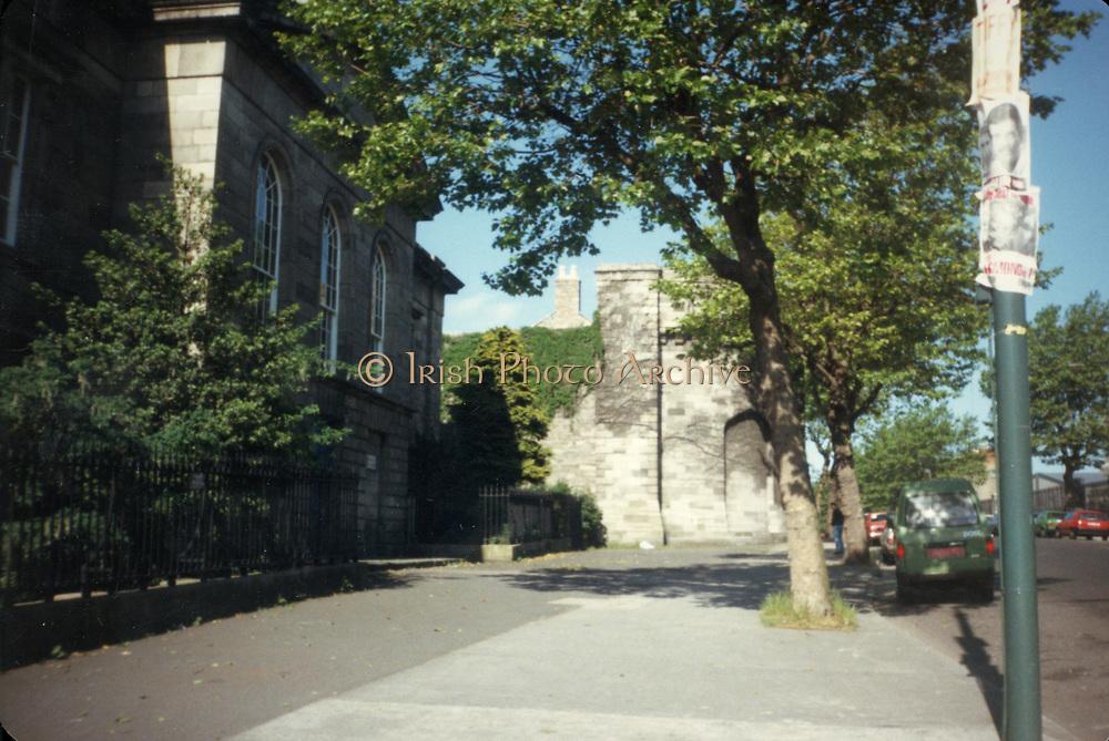 Old Dublin Amature Photos 1980s WITH, Kilmain, area, Jail,
