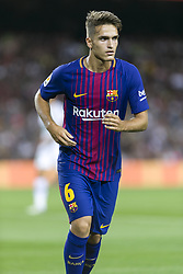 August 7, 2017 - Barcelona, Spain - Denis Suarez of FC Barcelona during the match between FC Barcelona vs Chapecoense, for the Joan Gamper trophy, played at Camp Nou Stadium on 7th August 2017 in Barcelona, Spain. (Credit: Urbanandsport / NurPhoto) (Credit Image: © Urbanandsport/NurPhoto via ZUMA Press)