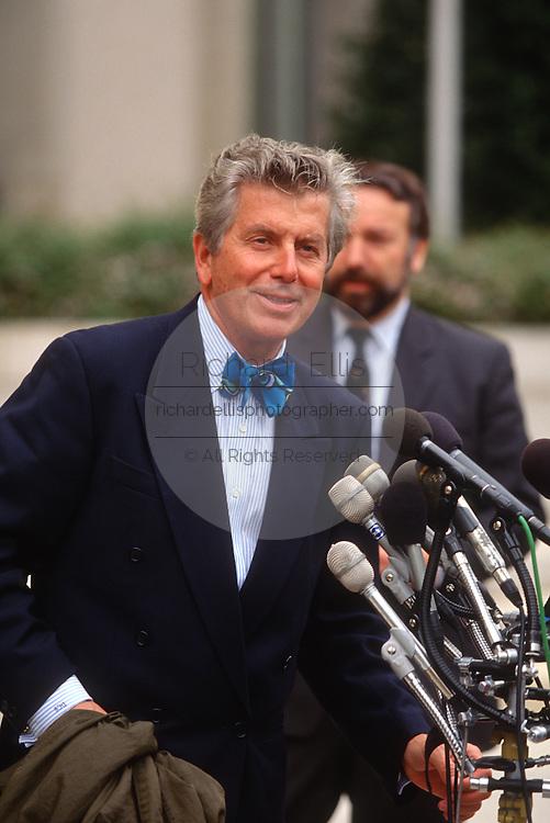 WASHINGTON, DC - September 10:  Atty. Donald Smaltz,  independent prospecutor for the Mike Espy investigation in Washington, DC. September 10, 1997  (Photo RIchard Ellis)