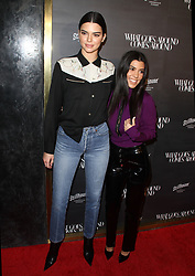 What Goes Around Comes Around 1 Year Anniversary event at Their Retail Store in Beverly Hills, California on 10/11/17. 11 Oct 2017 Pictured: Kendall Jenner, Kourtney Kardashian. Photo credit: River / MEGA TheMegaAgency.com +1 888 505 6342